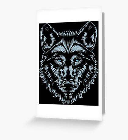 WOLF MASTER Greeting Card