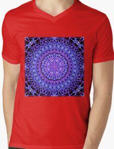 Beads of Light Mandala Mens V-Neck T-Shirt