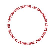 Corporations & Government Loop Photographic Print