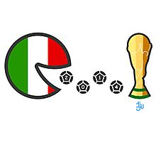 Italy World Cup 2014 Photographic Print