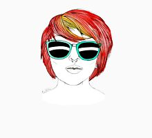 Girl with Sunglasses Unisex T-Shirt