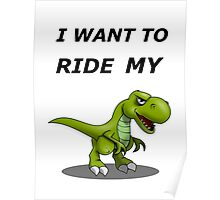 i want to ride my bicycle / bike Poster