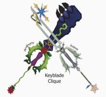 Keyblade Clique by Tgrabby