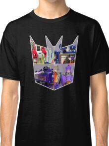 TRANSFORMERS FIGURES!!! G1 Decepticon Logo  Classic T-Shirt