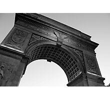 Washington Square Park Arch - B&W Photographic Print