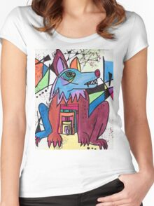 Ancient Wolf Women's Fitted Scoop T-Shirt