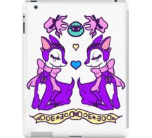 occult doe iPad Case/Skin