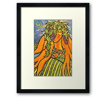 The Vine Dresser Framed Print