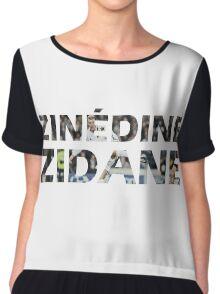 Zinedine Zidane Chiffon Top