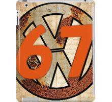 67 VW Logo iPad Case/Skin