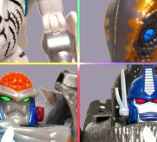 TRANSFORMERS FIGURES!!! Beast Wars Maximal Logo  Sticker