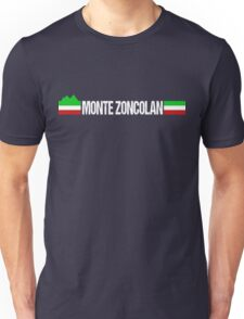 Monte Zoncolan Italian Cycling Unisex T-Shirt