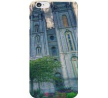 Salt lake temple iPhone Case/Skin