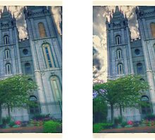 Salt lake temple by Link270