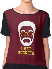 I Get Buckets Chiffon Top