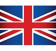 UK Flag Photographic Print