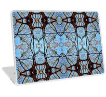 Nature's stained Glass Windows Laptop Skin