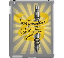 Who'd Have Sonic? - Doctor Who iPad Case/Skin
