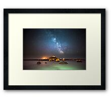 Milky Way at the Mount Framed Print