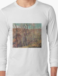 Franklin Carmichael - Silvery Tangle 1921. Forest view: forest view, trees, field, nature, botanical forestry, floral flora, wonderful flowers, plants, cute plant, garden, flowers Long Sleeve T-Shirt