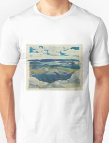 Franklin Carmichael - Autumn Hillside 1920. Forest view: forest view, trees, field, nature, botanical forestry, floral flora, wonderful flowers, plants, cute plant, garden, flowers Unisex T-Shirt