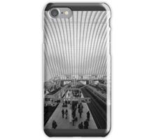 guillemins trains iPhone Case/Skin