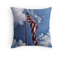 American Throw Throw Pillow