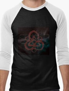 COHEED & CAMBRIA DRAGON FLY SYMBOL BEST Men's Baseball ¾ T-Shirt