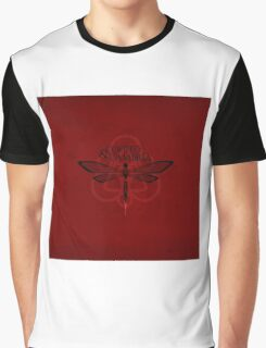 COHEED & CAMBRIA DRAGON FLY FONT LOGO BEST Graphic T-Shirt