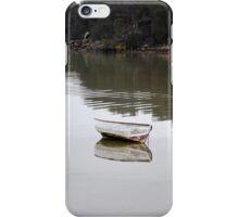 Clinker boat at Lewisham iPhone Case/Skin