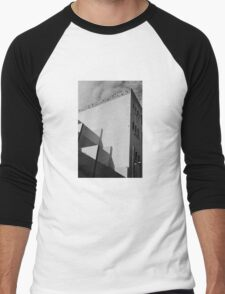 Urban Geometry Men's Baseball ¾ T-Shirt