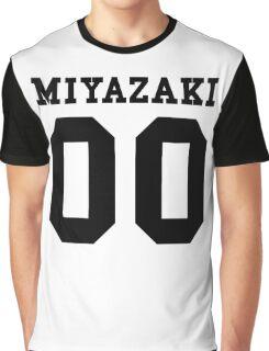 Miyazaki PYREX (black text) Graphic T-Shirt