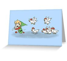 Chicken Run!!  Greeting Card