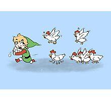 Chicken Run!!  Photographic Print