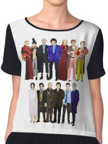 The Regenerated Doctors Chiffon Top