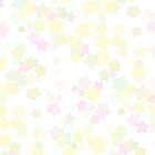 Confetti Star Pattern (WHITE x2) by Nina Buie