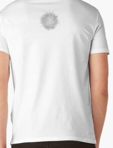 Dusty Hairball Mens V-Neck T-Shirt