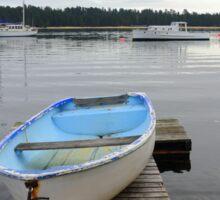 Boat in Pittwater Sticker
