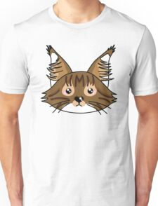 Main coon cat Unisex T-Shirt