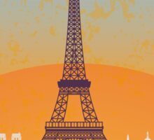 Paris vintage poster Sticker