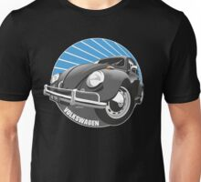 Sixties VW Beetle black Unisex T-Shirt