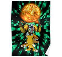 Agumon Warp Digivolve! Poster