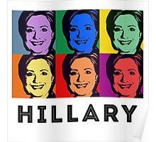 Hillary Pop Art Poster