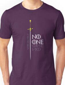 No One  Unisex T-Shirt