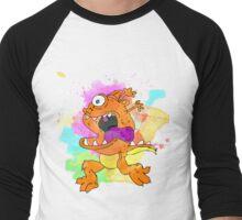 Orange monster! Men's Baseball ¾ T-Shirt