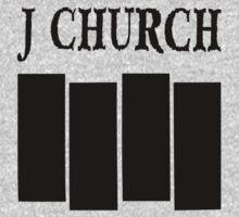 J Church Flag in Black One Piece - Long Sleeve