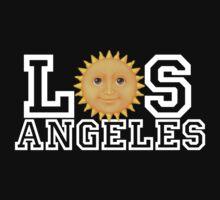 Los Angeles sun emoji by kkkevinacunaaa