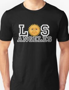 Los Angeles sun emoji T-Shirt