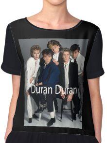 Vintage Duran Duran Poster Chiffon Top