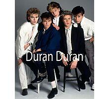 Vintage Duran Duran Poster Photographic Print